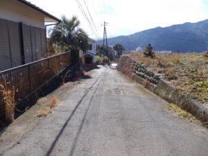 東側道路写真