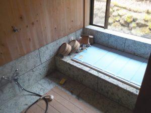 温泉付き浴室