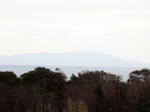 伊豆大島、海の眺望
